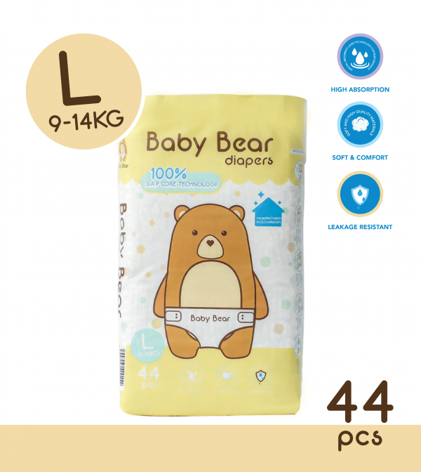Baby Bear Diapers (L)